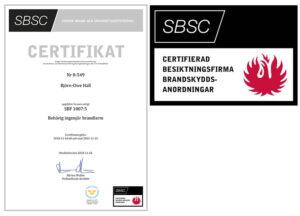SBSC-certifikat